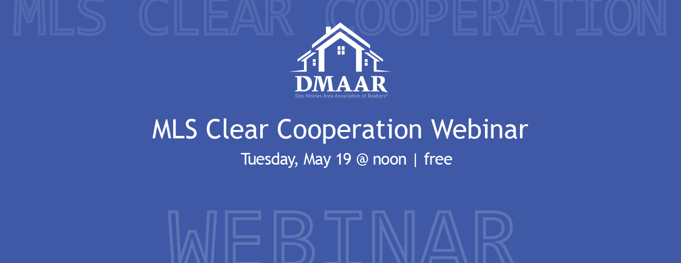 MLS Clear Cooperation Webinar